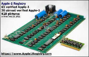 Apple-1 Registry