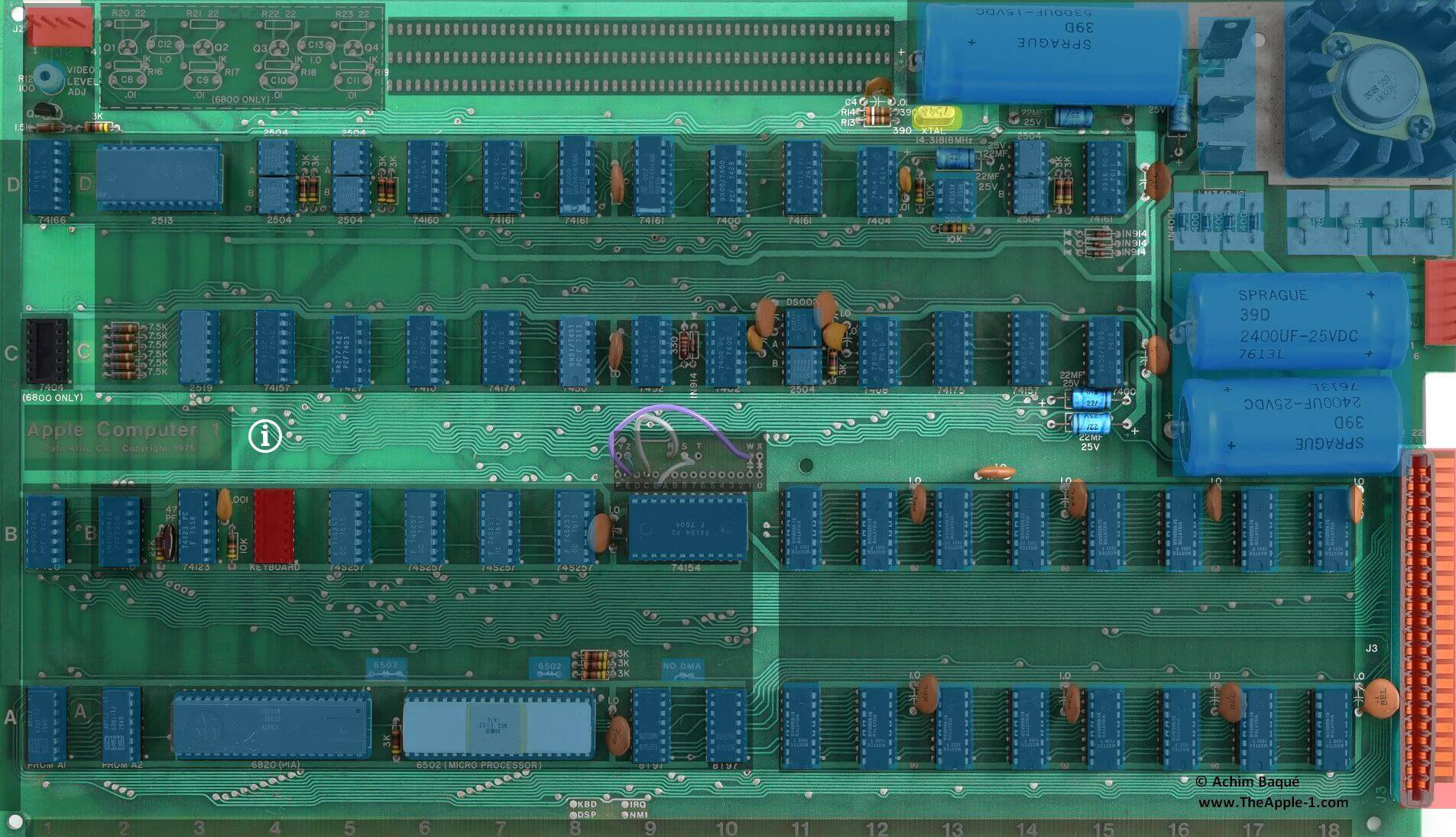 The Apple 1 Computer Worker Soldering Circuit Board In Electronics Factory Close Up